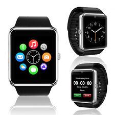 NEW! Stylish Wireless Smart Watch & Phone Bluetooth Built-in Camera GSM Unlocked