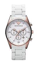 Emporio Armani Armbanduhren mit Chronograph für Damen
