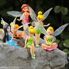 6pcs/Set New Tinker Bell Fairies Princess Action Figures PVC Doll Toy Gift 2016