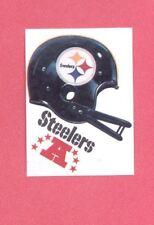 1983 Kellogg's PITTSBURGH STEELERS NFL Helmet Sticker Blank Back Version