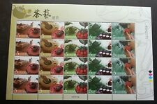 Taiwan Taiwanese Tea Ceremony 2006 Cuisine Food Art Pot Chinese (sheetlet) MNH