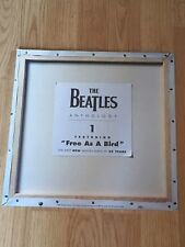 BEATLES ANTHOLOGY VOL 1 Album Flat Double Sided Record Store Display Promo 1995
