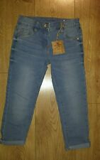 NEXT Girls blue Jeans size 7 years. Adjustable waist. New with tags
