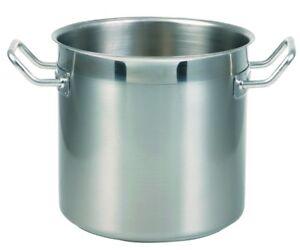 Suppentopf 18/10 ohne Deckel von 16 cm - 45 cm Ø - Induktion, Gastronomie -