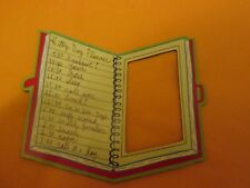 "Kitty Daily Planner Photo Frame Magnet Holds 3"" x 1.75""  Photo"
