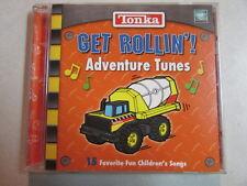 TONKA TRUCK GET ROLLIN' 15 ADVENTURE TUNES FAVORITE FUN CHILDREN'S SONGS CD OOP