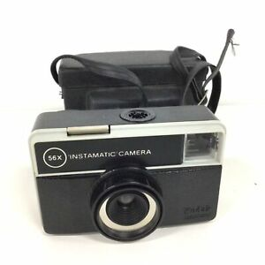 Vintage Kodak Instamatic Compact Camera With Original Case #655