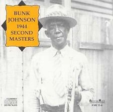 Bunk Johnson - 1944 (Second Masters), JOHNSON,BUNK, , Very Good
