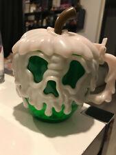 Limited Disneyland Paris Green Halloween Poison Popcorn Bucket Official