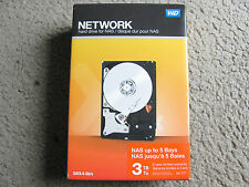 Brand New WD 3 TB 3.5-Inch Network NAS Hard Drive WDBMMA0030HNC-NRSN