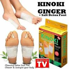 Kinoki Cleansing Detox Adhesive Foot Patches (Pack of 10) UK