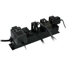 Furman PlugLock Locking Outlet Strip locks five power supply or regular plugs