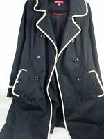 Merona Trench Coat Sz Medium
