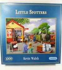 "Kevin Walsh 1000 Piece Puzzle ""Little Spotters"" Gibsons #G6073 Train"