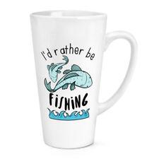 Prefiero ser la pesca 17 OZ (approx. 481.93 g) Grande Copa Taza de café con leche-Peces Gracioso Sport
