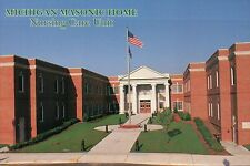 Michigan Masonic Home, 1200 Wright Avenue, Alma, Nursing Care Unit MI - Postcard