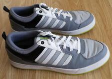 adidas Men's BBNEO Lite Lo Shoes / Trainers, NEO - Grey, Men's UK12, EU47.3 USED