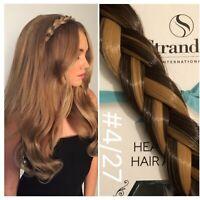 Stranded Hair Plait Chunky Clipped Braid Hairband Headband Brown Caramel #4.27