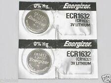 2 pc Energizer CR1632 LITHIUM 3v BATTERY CR 1632 EXPIRE 06/2026
