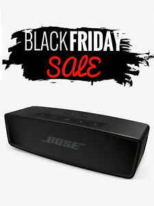 Bose SoundLink Mini II Special Edition Bluetooth Portable Speaker - Black - New