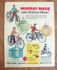 1960 Murray Bikes Bicycles Ad Comet VI Fllet Line Sonic Flite Park Cycles