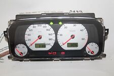 VW Golf III Kombiinstrument 1H0919860T Motometer