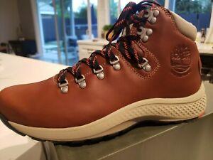 NEW Men`s Timberland Flyroam Trail Waterproof Mid Hiker Boots A1RMA Aerocore