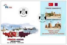 TURKEY / 2018 - (FDC) QATAR JOINT STAMP (TURKEY), MNH, Mi: 4407-4408 (Block 174)