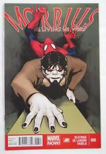 Marvel Comics Morbius: The Living Vampire #6 (2013)-Spiderman