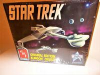 Vintage 1991 Star Trek Klingon D-7 Battle cruiser mint in box
