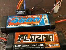 HPI Racing RS4 Sport 3 114712 SC-3SWP2 Controller + 2 Batteries NiMH