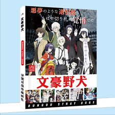 Anime Bungo Stray Dogs Hardcover Picture Album Postcard Collection Card Sticker