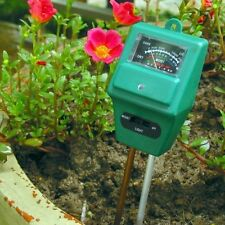 3in1 Soil Moisture Sunlight PH Meter Tester Plant Digital Analyzers