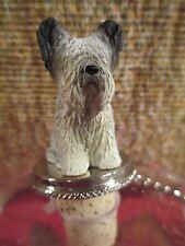 Skye Terrier ~ Dog Wine Stopper
