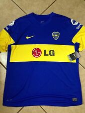 Nike Argentina Boca Juniors Player Issue   Jersey Football Soccer  Shirt