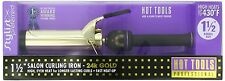 Hot Tools Professional 1 1/2'' Inch Spring Salon Curling Iron 24K Gold Surface