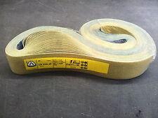 """Klingspor LS312JF Abrasive Belts 50x1525mm (2""""x60"""") Grit 60 (Pack of 25)"""