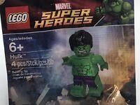 LEGO Marvel Super Heroes Hulk Minifigure Polybag 5000022 SEALED BRAND NEW 2012