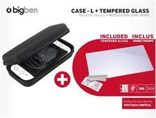 Nintendo Switch Protection Pack Tasche Hartglas Bildschirmschutzfolie