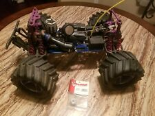 Traxxas t maxx used As Is Upgrades Part Wheels Free Free Shipp