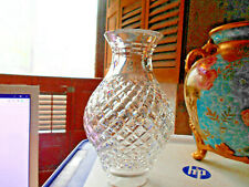 Cut Glass Chimney Shade for Lamp~Polished Crystal Jumbo Size.