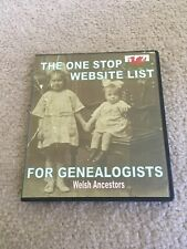 The One Stop Website List For Genealogists, Welsh Ancestors, Cd Rom Directory