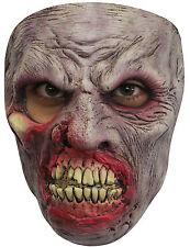 Terror Zombie Máscara de lujo para hombre Látex Disfraz halloween Masque NUEVO