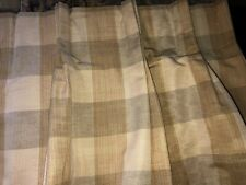 """CUSTOM ROBERT ALLEN PINCH PLEAT DRAPES,GOLD,TAUPE,IVORY 96""""L(3)SETS AVALABLE"""