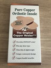 Pure Copper Orthotic Insole - The Original Copper Heeler - Size 3