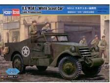 Hobbyboss Escala 82452 1:35th M3a1 Scout Car 'blanco' versión tardía