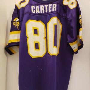 Cris Carter Minnesota Vikings NFL WILSON VINTAGE JERSEY YOUTH XL