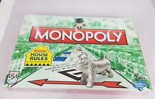 Monopoly Board Game House Rules Speed Dice New Cat Sealed 2013 Edition