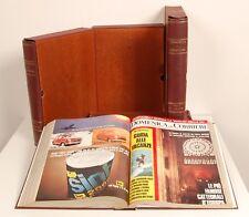 """""""La Domenica del Corriere""""anno 1973 rilegata in 4 volumi,da collezione,completa."""