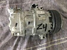 OEM BMW E85 Z4 2006-08 N52 ENGINE AIR AC COMPRESSOR PUMP UNIT CLUTCH 64529145355